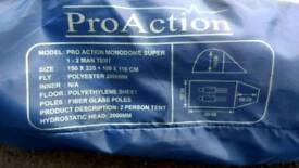 Pro Action Tent.