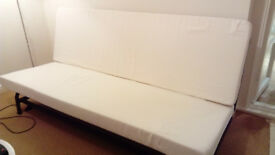 Sofa bed, 3 seater, click clack to small double bed