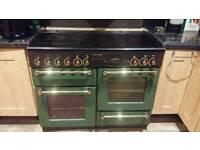 Range master dual fuel range cooker