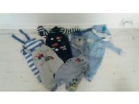 Big Bundle of baby boy clothes 0-9 Months £40.00