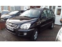 2006 Kia Sportage 1.9 liter Diesel manual, MOT until February 2018 - clean and very good condition