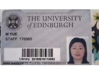 Learning Mandarin Chinese with a lecturer at the university of Edinburgh