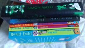 Asstd children books excellent condition Roald Dahl Simon Mayo Monkee Joe tom gates james patterson