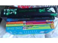 Asstd children books excellent condition Roald Dahl Simon Mayo Monkee Joe tom gates james patterson