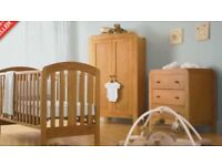 Mamas and papas 3 peace nursery furniture