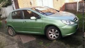 Peugeot 307 1.6 car in good condition