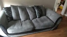 3 seater and matching armchair