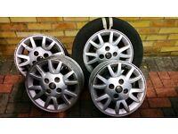 Nissan Micra 2006 4 Alloy wheels