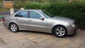 Mercedes E220 CDI 2003 Auto FSH 1 Years MOT VGC