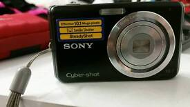 10.1 MP sony cybershot camera