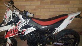 Derbi Senda DRD SM 125cc Liquid Cooled Motorbike
