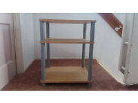 TV or HIFI Stand With 2 Shelves