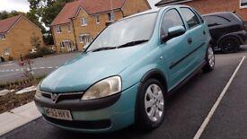 Vauxhall Corsa 1.2 16v 5 Door Elegance Spaires or Repairs