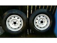 2 Citroen Relay Tyres