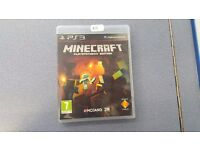 MINECRAFT PLAYSTATION 3 WITH RECEIPT