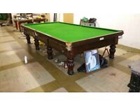 12x6 full size antique snooker table