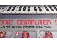 Electronic kids organ