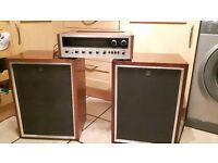 Vintage Pioneer LX-880 Stereo Reciver Recaped & Pioneer CS-53 Speakers Full Working Order £140 OVNO