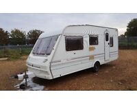 ABBEY COUNTY WARWICK 5 BERTH WITH AWNING 1996