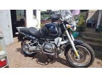 BMW R 850 R MOTORBIKE DEC. 01