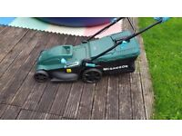 McGregor 40cm self propelled lawnmower used once in perfect condition