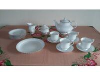 tea set 20 piece set