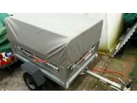 Erde 122 trailer high top cover spare wheel