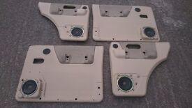 LAND ROVER DISCOVERY 2 TD5 V8 ALPACA LIGHTSTONE BEIGE COLOUR DOOR CARDS