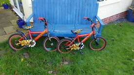 Boys bikes for sale