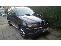 2002 BMW X5 3.0d Automaticblack with sunroof