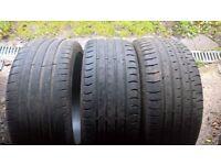 tyres 235/40/19 x 3