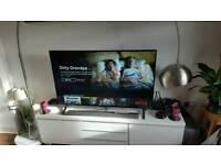 "Techwood 55"" 4k 3D smart LED TV with 320W bluetooth soundbar and subwoofer"