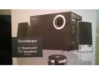 Sandstrom 2.1 Bluetooth Speakers for PC/Laptop £18 ono