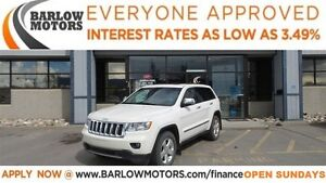 2012 Jeep Grand Cherokee Overland (APPLY NOW DRIVE NOW)