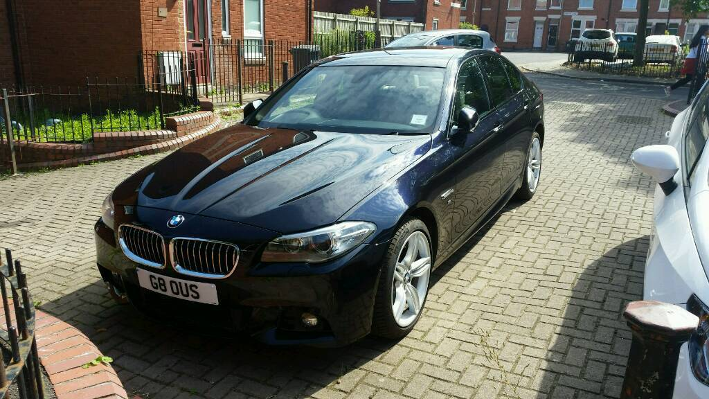 BMW D SPORT FACE LIFT MODEL AUTO Bhp In Leicester - 2013 bmw 535d