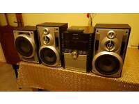 Panasonic sa-ak750 stereo hifi system