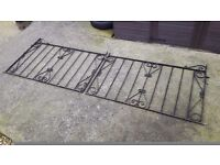 Wrought Iron Double Gates, Driveway ( extra wide)