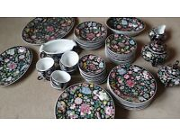 Chinese Hand painted Tea Set- 60 pieces