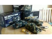 Battle tanks x3