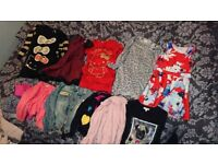 Girls clothes size 7 &7-8