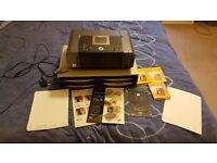 Cannon Photo Printer, Paper Holder and Photo Paper - Bargain!