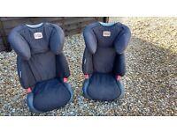 2x Britax matching childs car seats