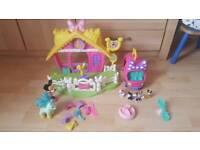 Minnie stables and van