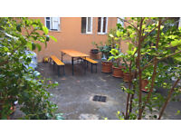 Sicily Giardini Naxos Single House with courtyard and Jacuzzi 10 meters from sandy beach