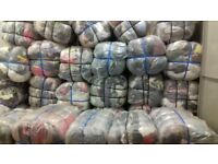 joblot of 5 bales of jeans and t-shirts, grade B (good for export )