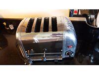 Dualit Vario 40352 Stainless Steel four slice Toaster