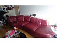 2 piece Corner sofa + Foot stool with storage