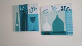 2 x Canvas Prints