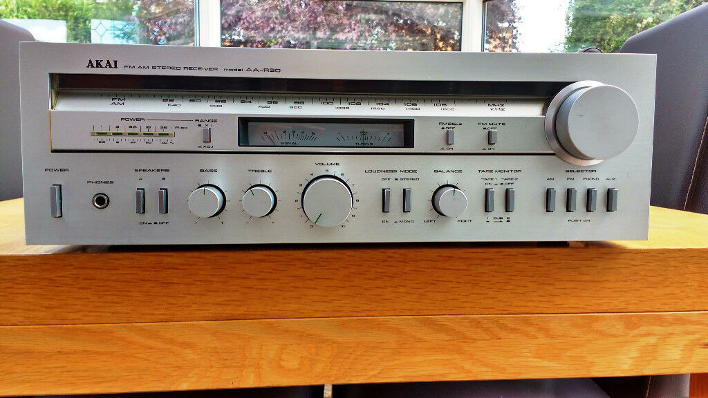 Akai AA-R30 Reciever (Amp and AM/FM tuner)