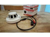 CCTV camera (smoke alarm casing)